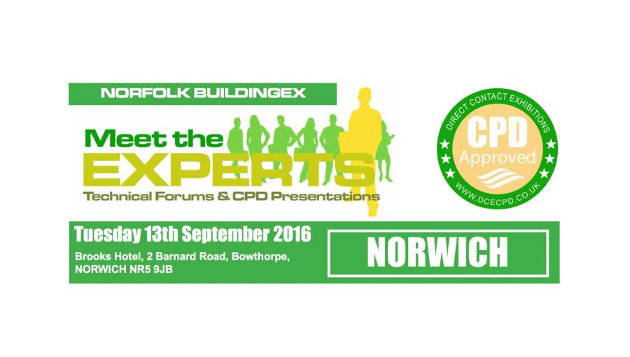 Come See us at Meet The Experts in Norwich